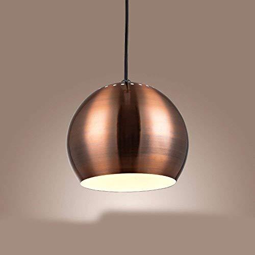 on. Gzz Deng Home buitenverlichting hanglamp kroonluchter plafondlamp Shade Metaal Retro 20 cm industriële verlichting