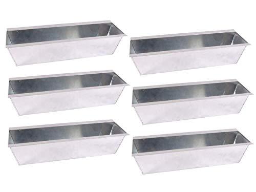 CB Home % Style Blumenkasten Pflanzkasten Set Einsatz für Europaletten Balkonkasten Palette Topf (6)