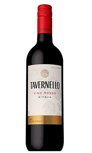 【世界NO.1イタリアテーブルワイン】タヴェルネッロロッソ[赤ワインライトボディイタリア750ml]