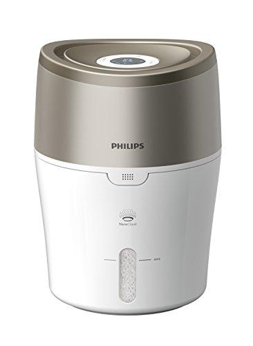 PHILIPS 2000 Series Nano-Cloud Digital Hygienischer Luftbefeuchter mit NanoCloud Verdunstungs-Technologie – HU4805/40