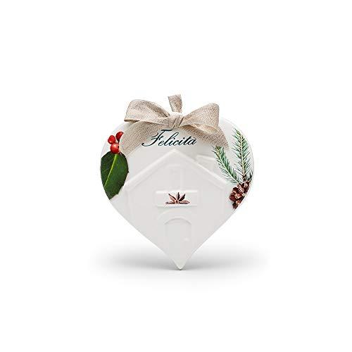 CERAMICHE VIVA ITALY SINCE 1998 Fliese aus Keramik Herz des Hauses, Dekor Joy