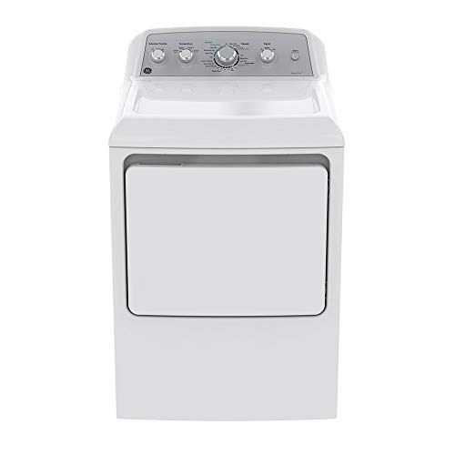 Secadora a Gas Natural 7.2 cu. ft. Blanca GE Appliances