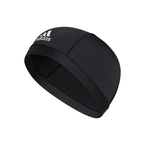 adidas Unisex Football Skull Cap, Black, ONE SIZE