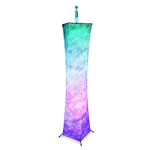 SHANGXIN Lámpara de Pie LED con Control Remoto Brillo Ajustable Colorida Lámpara de Atmósfera RGB para Una Decoración Moderna de La Habitación