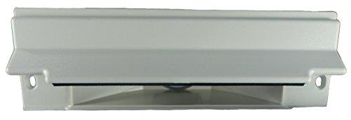 Barrido de vacío Central Válvula de entrada. cansweep recogedor Válvula de entrada (color blanco) para bajo una mesa y de instalación para sistemas de vacío Central