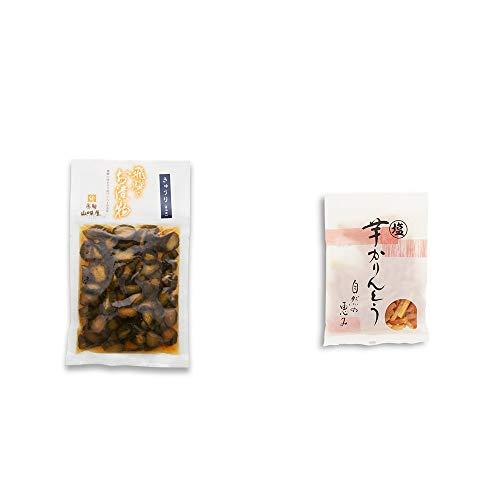 [2点セット] 飛騨山味屋 きゅうり醤油漬(150g) ・塩芋かりんとう(150g)
