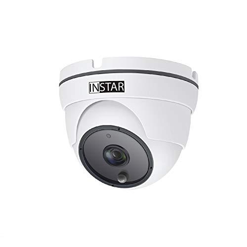 INSTAR IN-8003 Full HD (PoE) weiss - PoE Überwachungskamera - IP Kamera - Webcam - Innen und Aussen - Außenkamera - Outdoor - PIR - Bewegungserkennung - Nachtsicht - Weitwinkel - IEEE 802.3af - ONVIF