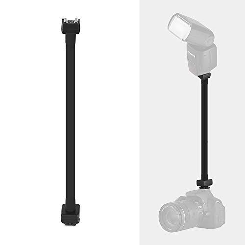 Andoer Flexible E-TTL Hot Shoe Extension Shelf Rod Flash Light Speedlite Bracket for Nikon EOS DSLR Cameras