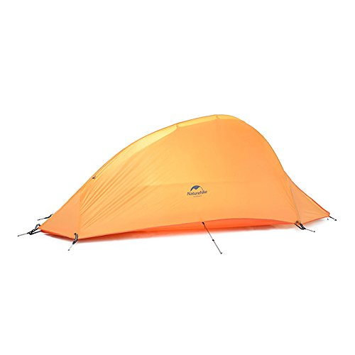 Camping Tent 1 Person 4 Season Tent Double Skin 210T Plaid...