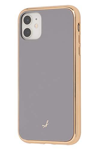 salisty iPhone 11 ケース 耐衝撃 マットカラー [グレー]