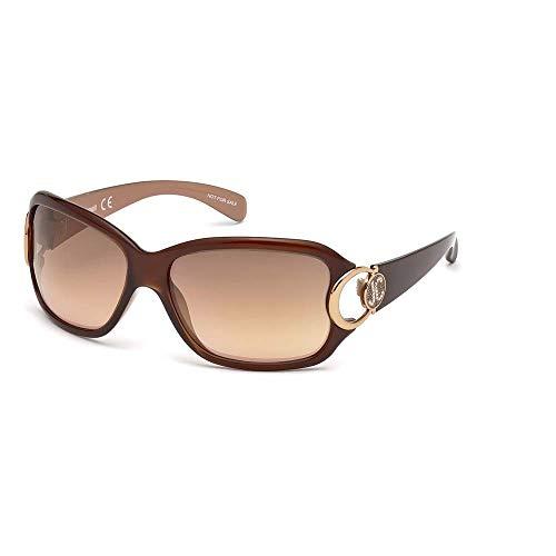 Just Cavalli JC202S 45G 62 Gafas de sol, Marrón (Marrone Chiaro Luc/Marrone Specchiato), Mujer