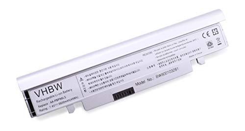 vhbw Batterie LI-ION 6600mAh 7.4V pour Samsung NC110, NC210, NP-NC110, NP-NC210. Remplace AA-PBPN6LB, AA-PBPN6LS, AA-PBPN6LW etc.