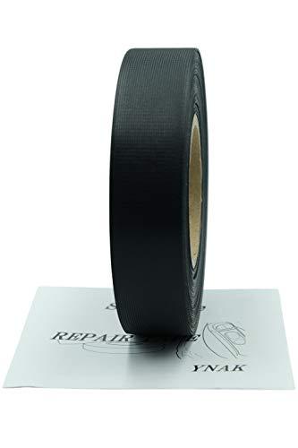 YNAK シームテープ テント ザック タープ シート レインウェア 補修 3レイヤー適合 縫い目 リペア 防水 対策 メンテナンス 用 トリコット 表面布状 アイロン接着 幅20mm×30m 幅25mm×20m 幅35mm×20m グレー ブラック OD