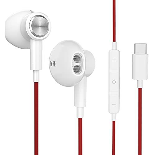 Auriculares USB C - Auriculares estéreo de Alta fidelidad con...