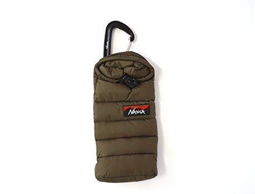 NANGA(ナンガ) Mini sleeping bag phone case ミニスリーピングバッグ携帯ケース (モカ)