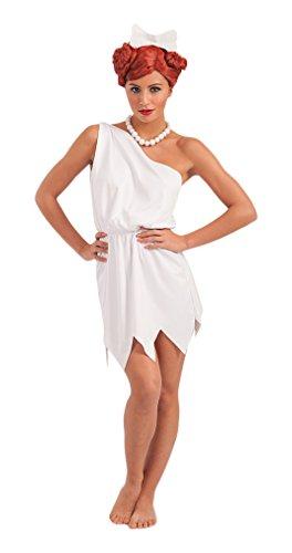 Carnival Toys - Disfraz Vilma en bolsa, talla única, color blanco (83301)