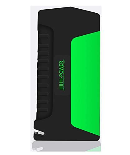 Cargador de automóviles Cargador de batería Manteneador de automóvil Starter Starter Booster de emergencia Powerbank 2 puerto USB Linterna LED para la emergencia de