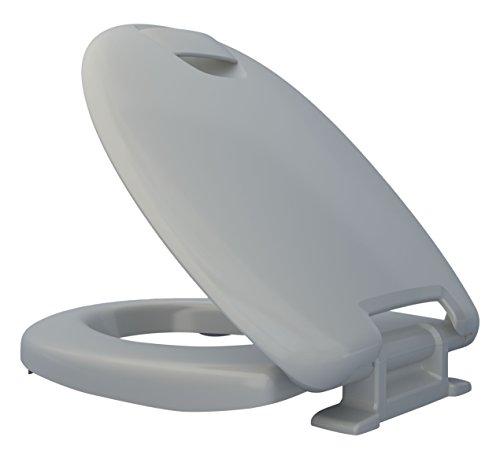 Duroplast Pot Toilette WC sit Wc-Siège Stone WENKO-Acier Inoxydable Acier Fixation