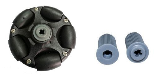 58mm Plastic Omni Wheel (compatible with Servos and Lego Mindstorms NXT)