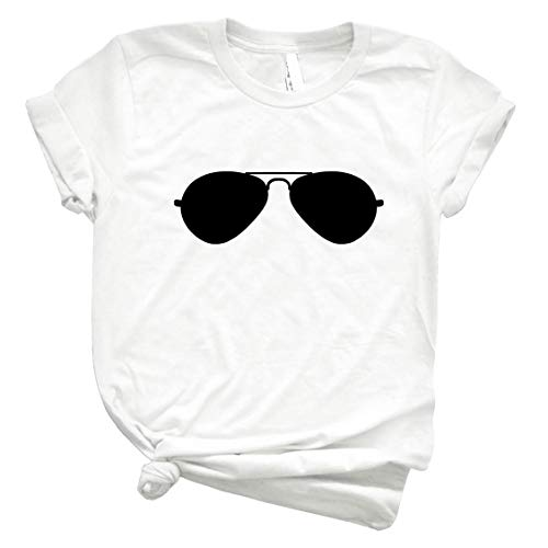 Aviator Sunglasses 43 Men Graphic Tee Vintage Retro Style Shirt for Women – Customize Women Best T Shirt