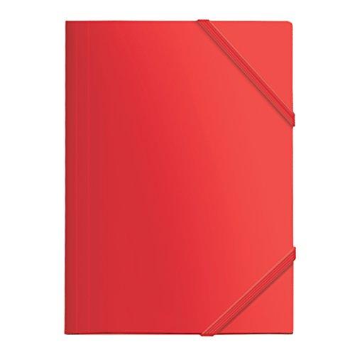 Dohe 90601 - Carpeta Polipropileno, goma plana, color rojo 🔥