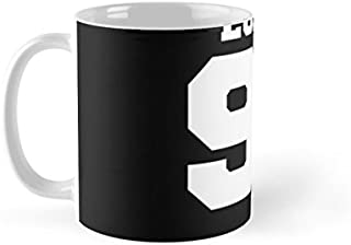 Shopsmeade Luhan Exo 90 Football Design Exo-m Mug with Electronic Education Record ® Gift Card | Collector Edition Mug | Gifts for Boyfriend Girlfriend Fiance Spouse Friends Him Her Men Girl Birthday Anniversary Everyday Gift Mug