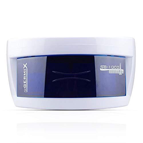 Esterilizador UV profesional esterilizacióndel 99% - Caja UV para esterilizar Manicura, Pedicura, Pequeños textiles, teléfonos móviles, llaves, anteojos y todos vidrio, cerámica y acero inoxidable