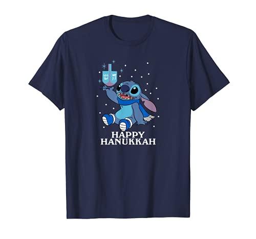 Disney Lilo & Stitch - Happy Hanukkah Stitch Dreidel T-Shirt