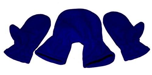 Partnerhandschuhe/Pärchenhandschuhe dunkelblau - Geschenkidee für Weihnachten, Paare, Valentinstag, Verlobung, Hochzeit