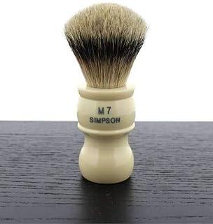 Simpson M7 Best Badger Shaving Brush, Ivory
