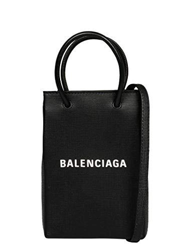 Balenciaga Luxury Fashion Donna 5938260AI2N1000 Nero Pelle Borsa A Mano | Stagione Permanente