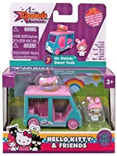 Hello Kitty Dazzle Dash - My Melody Donut Truck - Diecast Vehicle