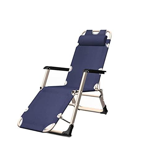 Opklapbare fauteuil stoel verstelbaar, tuinstoelen achterover leunen, opvouwbare nul zwaartekracht fauteuil, opvouwbare ligbedden, draagbare ligstoel, voor buiten op het terras Camping strand
