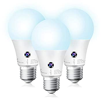 Sengled Dusk to Dawn Light Bulbs Outdoor 5000K Daylight LED Light Bulb 75 Watt Equivalent 10.5W  1200LM Automatic Dusk to Dawn LED Light Bulbs for Outdoor Lighting 3 Pack UL Listed