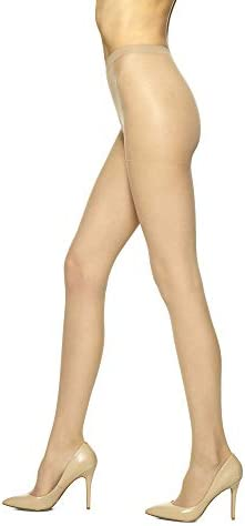 No Nonsense Women s B Regular Pantyhose with Reinforced Panty and Toe Nude 6 Pair Pack product image