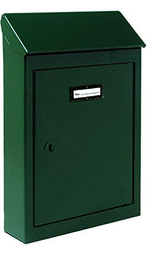 Cassette P/letters blik Nr. 2 groen