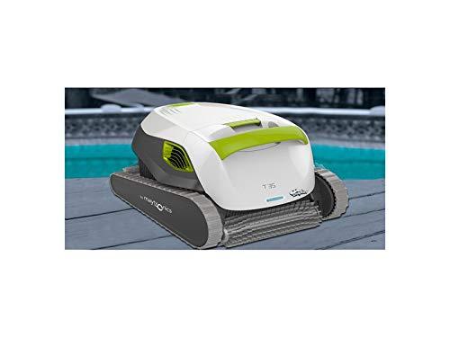 DOLPHIN Robot de Piscine électrique Maytronics T35 Autonome, Nettoyage des Fond, Parois et Ligne d'Eau, Compatible Tout Type de Revêtement de Piscine, Filtration Supérieure de l'Eau