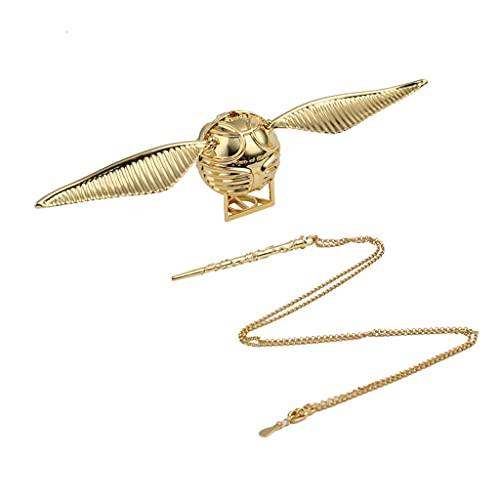 Harry Potter Golden Snitch Exquisite propuesta Joyero, para Accesorios de joyería Claves Pequeños valiosos Fans Merchandise Regalos