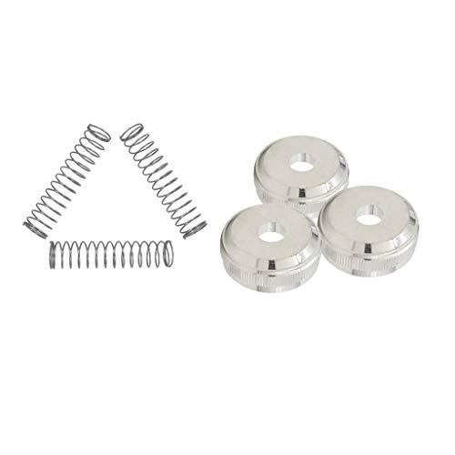 SDENSHI Ersatzteile Für Trompete Schrauben + Trompetenwert Kolbenfeder Für Blechblasinstrumente