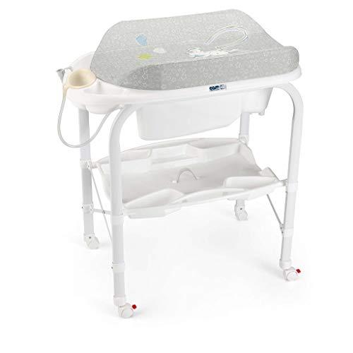 Baby Changing Station Table à Langer pour BéBé - (VariéTé D'Options) Table De Massage Multi-Fonctions Adoptez Une Conception Anti-éCrasante ~ Eau/SystèMe De Drainage Automatique