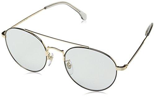Lozza Herren BARI 12 Sonnenbrille, Schwarz (Clushrose Gold+Matt Blk)
