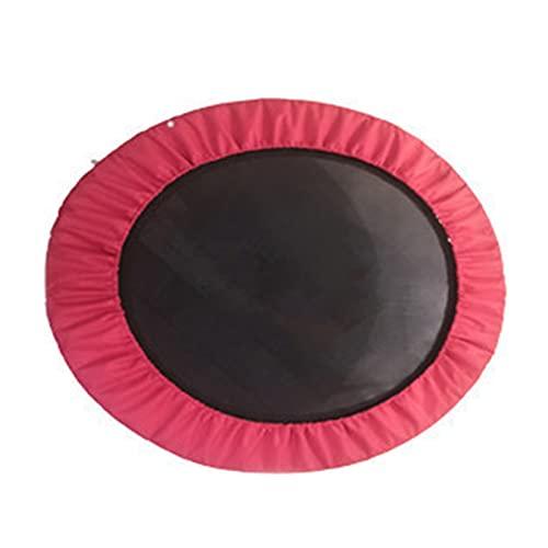 Trampolines Spring Pad, Trampolín para Niños Cubierta Protectora Chaqueta con Borde De Esponja Impermeable Y Resistente A Los Rayos UV para Marcos Redondos,Rojo,1.01m