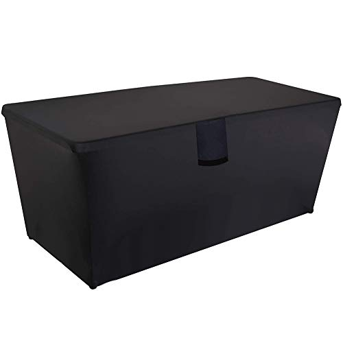 Hohong Outdoor Storage Box Cover - Waterproof Heavy Duty Oxford Fabric Deck Box Cover
