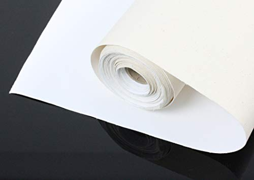 Paintersisters Premium 380 gr/m² LEINWAND auf Rolle 25m x 160cm, malfertig vorgrundiert, 100% Baumwolle, sehr reißfest! Leinwandrolle