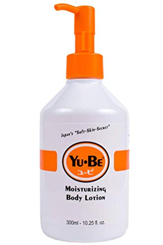 Yu-Be Lotion Deeply Hydrating Moisturizer Pump Bottle for Extra-Dry Skin - Daily Moisturizing and Healing Skin Cream for Day & Night | Buttery & Creamy Texture Good For All Skin Types, Cracked Heels & Elbows, All Over Body | Non-Greasy, and Vitamin-Enriched - 10.25 Fl Oz