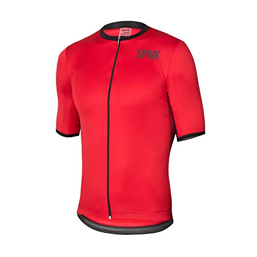 Spiuk Maillot M/C Anatomic Hombre Rojo T. XL, Talla