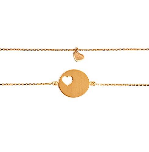 Beka & Bell Carry Mutter & Tochter Armband SET 1 für 1 Tochter GOLD vergoldet