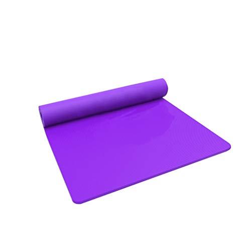 LLKK Yoga Mat,Esterilla Yoga Antideslizante,Esterilla Yoga Colchoneta,Colchoneta de Yoga ensanchada y Engrosada súper Grande de Color Puro,Alfombrilla Antideslizante para el hogar