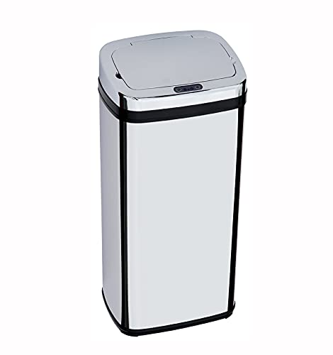 Cubo De Basura Cubo De Ceniza Cubo De Basura Inducción Infrarroja Volteo Automático Cubo De Basura Cubo De Basura El Barril Está Equipado Con Un Barril De Plástico Portátil
