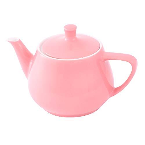 Friesland Teekanne 0,85l Pastellrosa Utah Teapot Porzellan